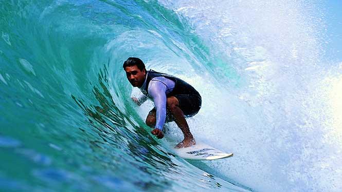 Professional Surfer North Shore